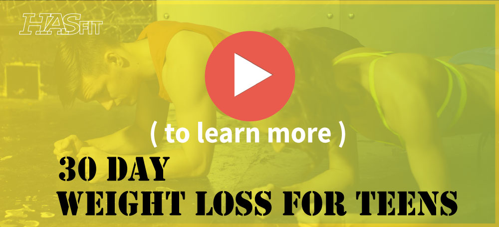 HASfit's Free 30 Day Teenage Weight Loss Program - Weight ...