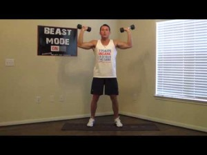 8 Minute Killer Chest Workout at Home - Chest Exercises ...