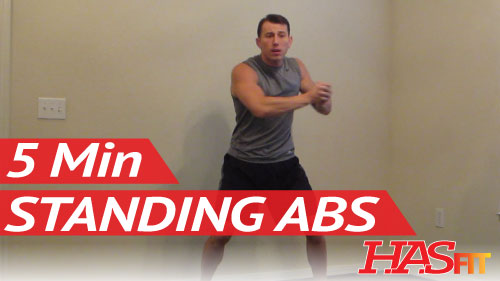 Standing Abs Workout Standing Ab Exercises Abdominal