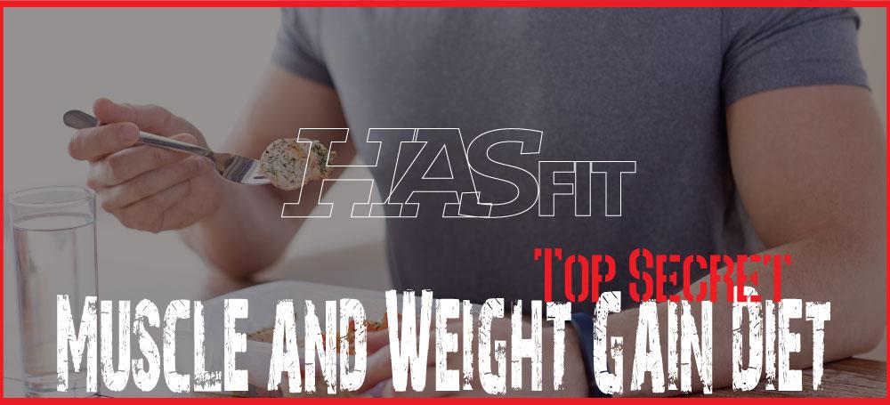 HASfit Muscle Weight Gain Diet - Free Bodybuilding Diet ...