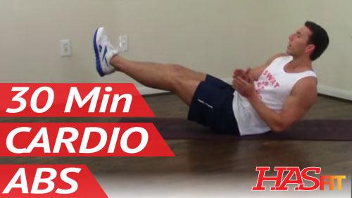 30 Minute Annihilation Cardio Abs Workout