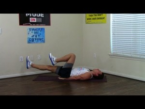 3 Min Beginner Core Workout - HASfit Easy Core Exercises ...