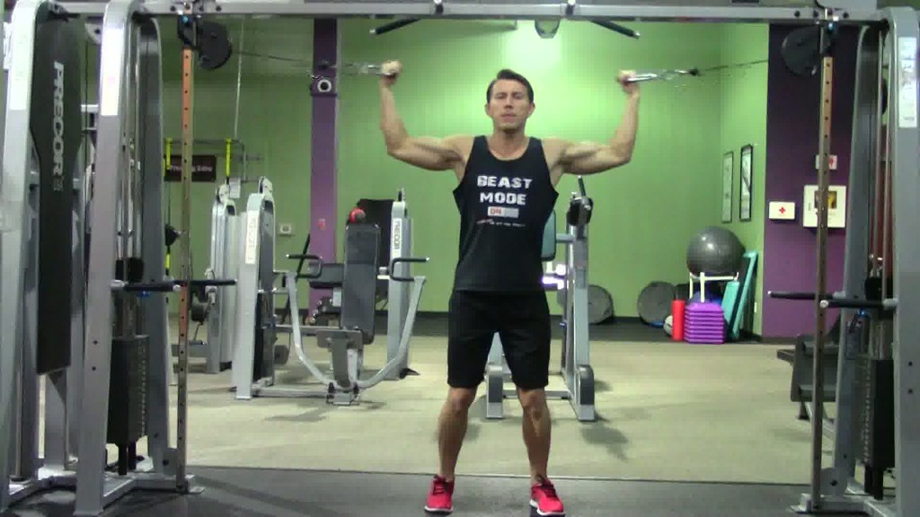 Beginner Back Biceps Workout in the Gym - HASfit Gym ...