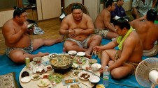 sumo eating