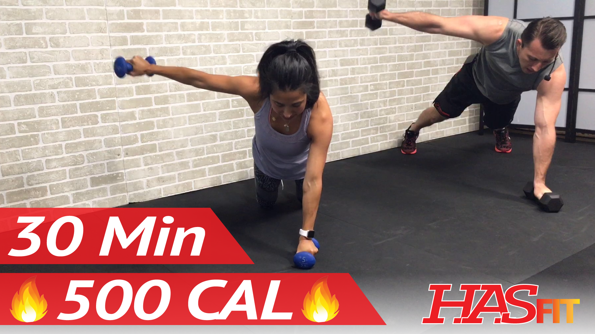 30 Minute HIIT Workout for Fat Loss - High Intensity ...