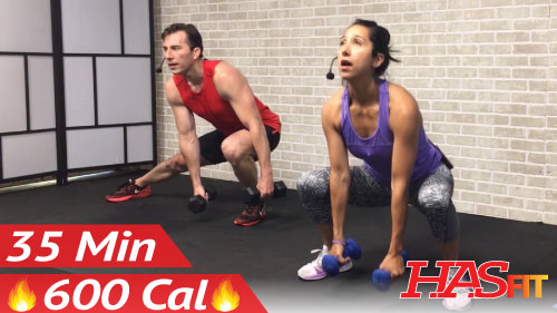 35 Minute HIIT Workout for Fat Loss - HASfit - Free Full ...