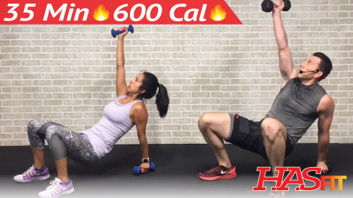 35 Min HIIT Workout for People Who Get Bored Easily ...