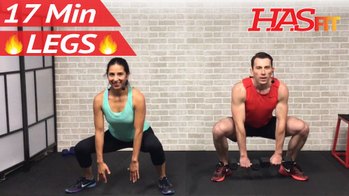 Min home leg workout routine hasfit free full