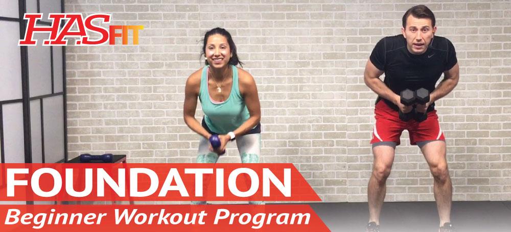 HASfit's Foundation Beginner Workout Program - HASfit | HASfit