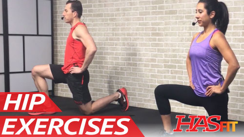 25 Min Hip Stretching & Strengthening Exercises for Hip ...