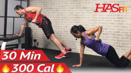 30 Min Beginner Strength Training - HASfit - Free Full ...
