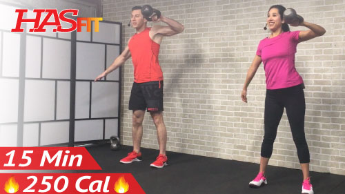 15 Min Quick HIIT Kettlebell Workouts for Fat Loss ...