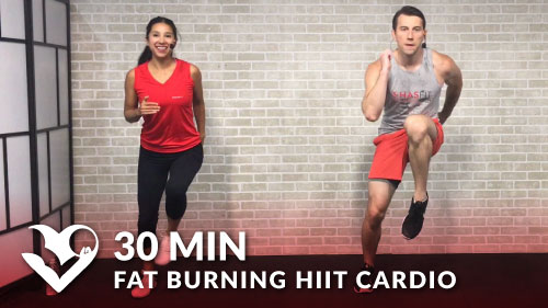 30 Minute Fat Burning Hiit Cardio Workout Hasfit Free