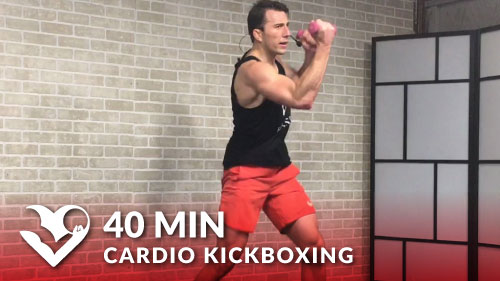 40 Min Cardio Kickboxing Workout to Torch Fat - HASfit ...