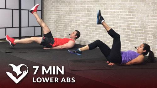 7 Min Lower Ab Workout for Women & Men - HASfit - Free ...