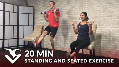 15 Min Senior Workout Hasfit Exercise For Elderly
