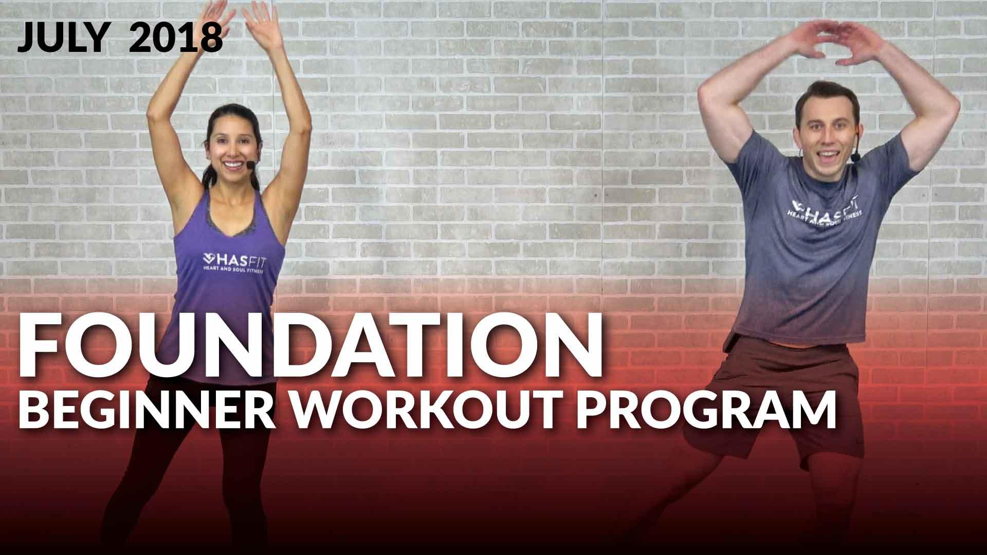 beginner workout program