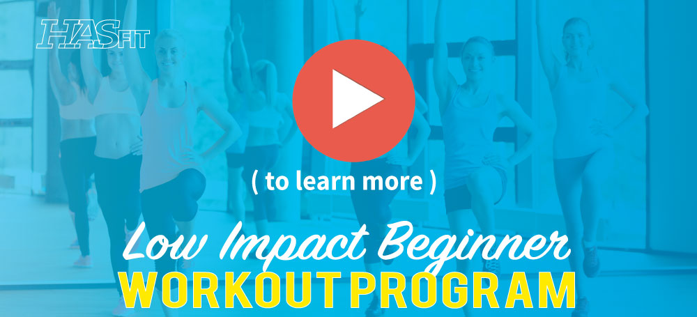 low impact beginner workout program
