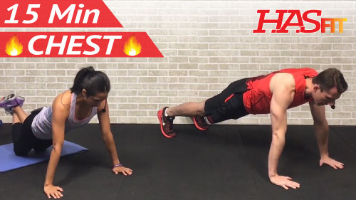 15 Min Chest Workout At Home