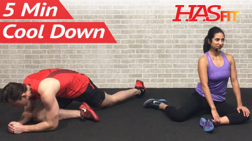 5 Minute Cool Down Exercises After Workout - HASfit - Free ...