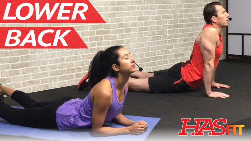 25 Minute Lower Back Exercises for Lower Back Pain ...