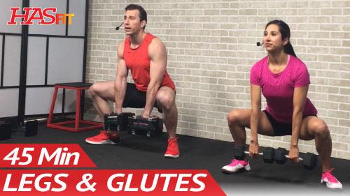 45 Min Butt And Legs Workout For Women Men