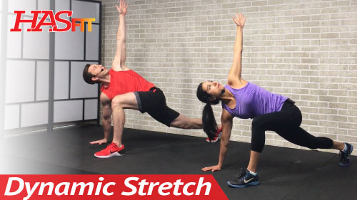 12 Min Full Body Dynamic Stretching Routine - HASfit ...