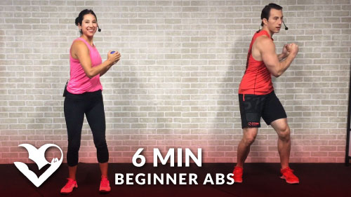 6 Minute Abs Workout For Beginners