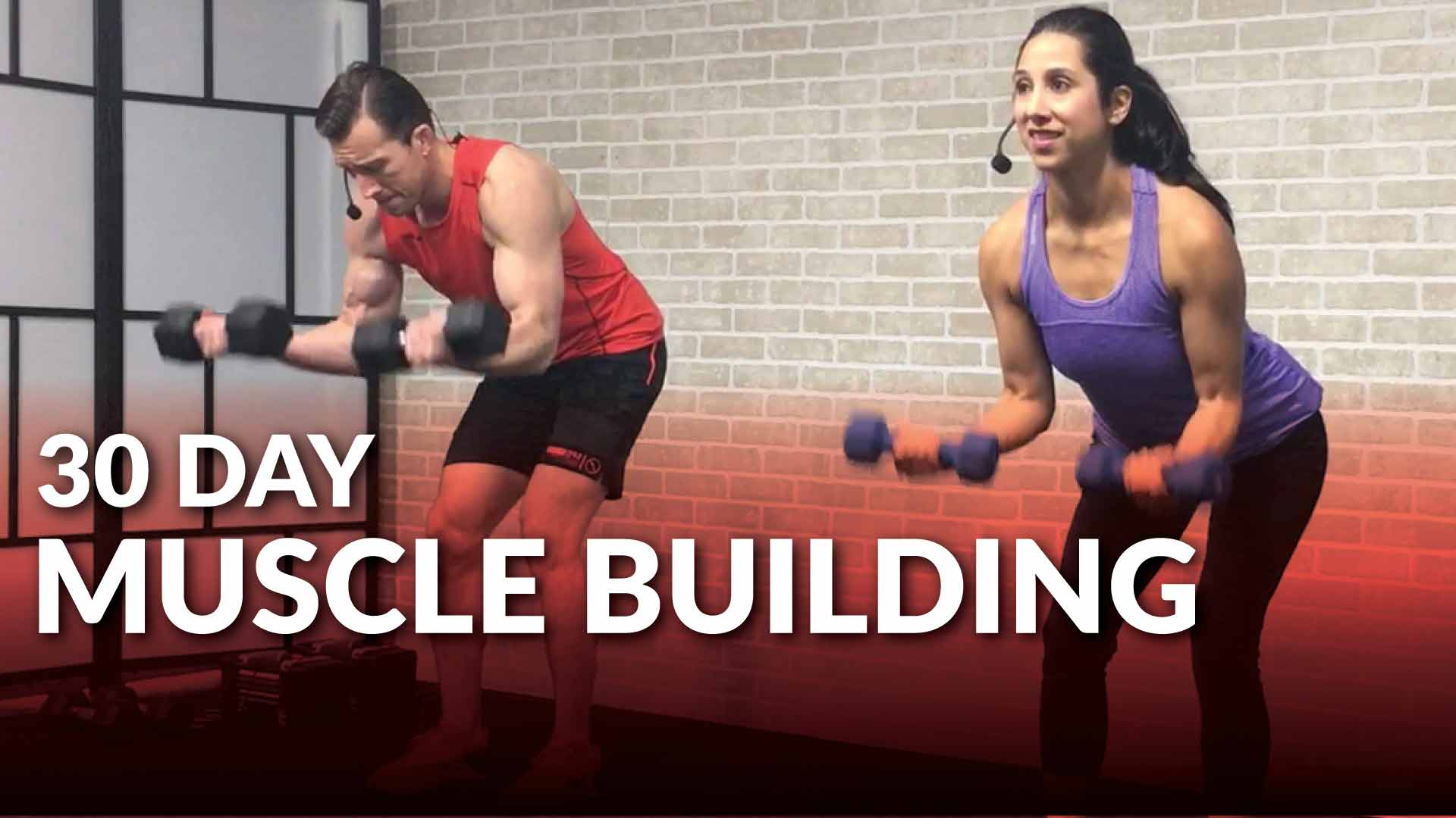 30 Day Muscle Building Program At Home