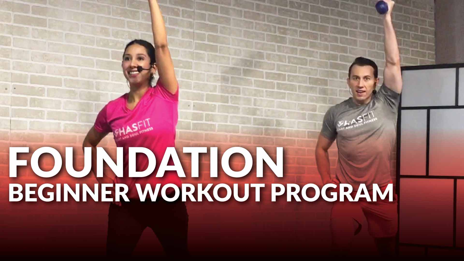 HASfit's Foundation Beginner Workout Program - HASfit - Free